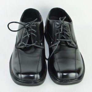 Deer Stags Gabe Dress Shoes Formal Black Boys3.5M